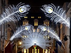 Find Christmas lights in London, including info on when the sparkling lights and decorations will be switched on at Regent Street, Marylebone, Oxford Street, Covent Garden and more.