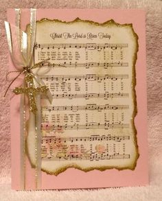 Easter Hymn Card by cards4joy - Cards and Paper Crafts at Splitcoaststampers