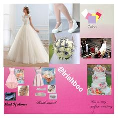 """Wedding"" by irishboo on Polyvore featuring Anniel, women's clothing, women's fashion, women, female, woman, misses and juniors"
