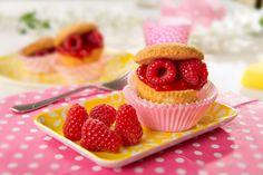 Frambozencupcakes - met Zonnigfruit