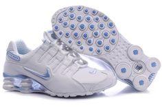 reputable site 49faa 4aec4 Vit Blå Nike Shox NZ Skor Kvinna 68719 Billiga Nike Skor Utlopp, Nike Air  Jordans