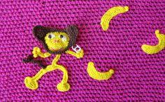 Knitty Graffity projekt Zgarn deltog i 2012. Del av Zgarns bidrag.
