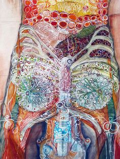 Monica Martinez -art the human body