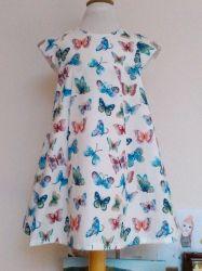 Patron gratuit robe petite fille 3 ans