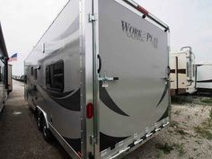2016 New Forest River WORK AND PLAY 25ULA Travel Trailer in Missouri MO.Recreational Vehicle, rv, 2016 Forest River WORK AND PLAY25ULA, 30 Gal. Fuel Station, 32in Flat Screen TV, Bedspread & Pillows, Brace & Wire for A/C, Generator Prep, Overhead Cabinet, Spare Tire, Spare Tire Carrier, Upgrade to 50AMP Service,