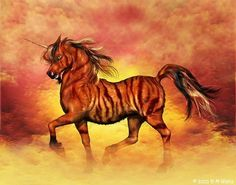 And when I am mad I can call my tiger unicorn to come poke the jerks with his fiery tiger horn...so there!