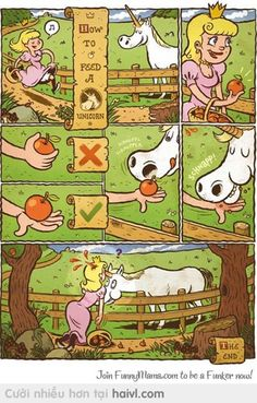 How to feed a unicorn lol