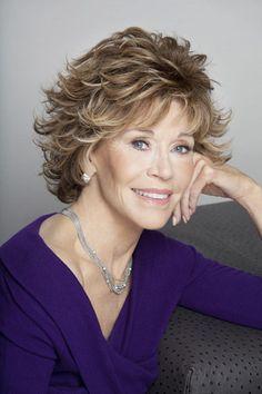 Jane Fonda - Layered Hairstyle