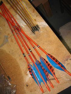 d663ee46ce927 Orange Stalker Stain. Wood Arrow
