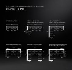 Cloud Track Arm Modular U-Sofa Chaise Sectional Pit Sectional, Corner Sectional, Sectional Ottoman, Classic Sofa, Modern Shop, Corner Chair, Chaise Sofa, Armless Chair, Medicine Cabinet Mirror