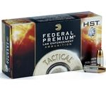 $399.80/case of 1000 rounds! Federal HST LE 9mm Luger Ammo 124 Grain Jacketed Hollow Point