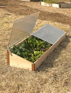 Start gardening earlier in spring and grow later into fall. Sized to fit our 2' x 8' Elevated Cedar Raised Bed or may be used on the ground. Rot-resistant cedar base with aluminum and polycarbonate top. Built in our Vermont factory.