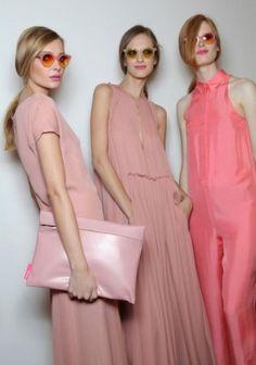 Cacharel Spring 2011 ~ blush, pink