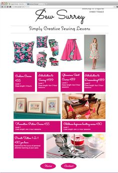 Sew Surrey | Simply Creative Sewing Lessons