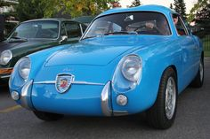 1959 Fiat Abarth Zagato 750 Record Monza