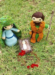 María, José y niño Dios