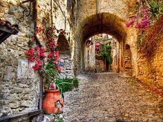 Bussana Vecchia (Imperia - Italy)