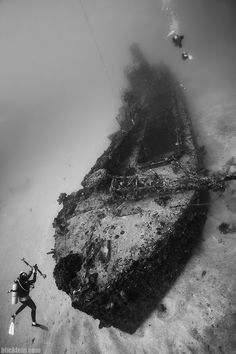 Old wreck at the coast of the Dominican Republic