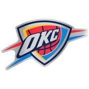 """#NBAStore.com - #NBAStore.com Oklahoma City Thunder WinCraft 7.5"""" x 4.25"""" Auto Emblem Decal - AdoreWe.com"""