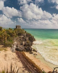 Tulum is the site of a pre-Columbian Mayan walled city serving as a major port for Cobá