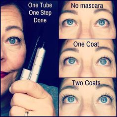 One and done! The original fiber mascara from LimeLight by Alcone.