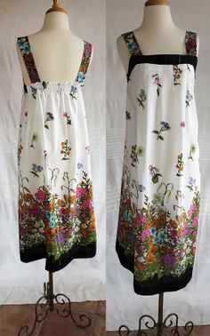 Vintage Jori California 1970's sleeveless summer by DustyDesert, $24.00