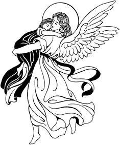 Angel clip art printable  Dover Publications