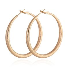 18K Gold Galvanized Exaggerated Earrings
