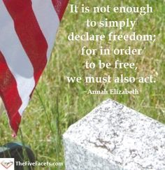 As I prepared for my family's July 4th celebration, I couldn't help but think about some of the events and threads that comprise our freedom. Our freedom, for all of us who live in countries…