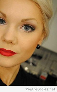 Love this classic make-up look