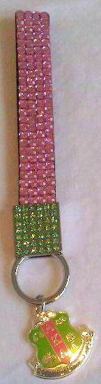 AKA bling keychain.... Too cute, I need this.