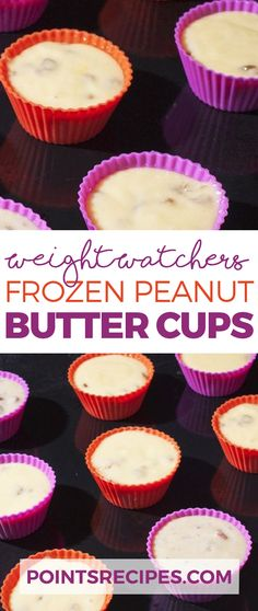 Frozen Peanut Butter Cups (Weight Watchers)