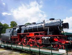 Steam train at Beekbergen The Netherlands