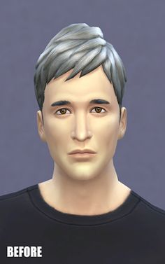 My Sims 4 Blog: Facial Enhancing Blush and Lips for Males by Rusty...