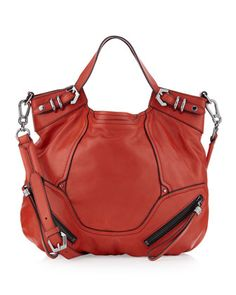 Tegan Tote, Red by Oryany at Last Call by Neiman Marcus.