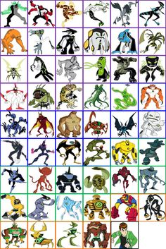 Ben 10 is a great TV show for alien warrior inspiration, as that's pretty much the entire concept for the show. any of these ideas could lead to a greater idea or concept.