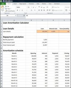 Amortization Schedule Calculator  Money