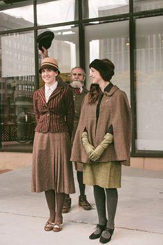 #Vintage #Tweed #Look