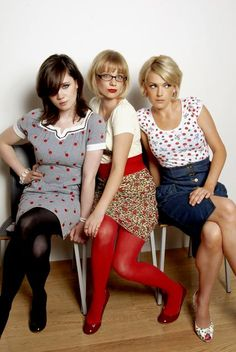 I've been in love with the sassy songs of The Pipettes for years