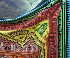 Psychedelic indian mandala tapestry wall hanging beach throw home decor bedcover #Unbranded #ArtDecoStyle #BedspreadWallHangingHomeDecor