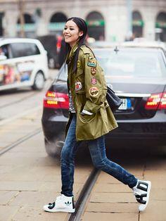 YOUTH CULTURE - Fashion Resume Liu Wen