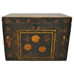Check out this item at One Kings Lane! Chinese Painted Trunk