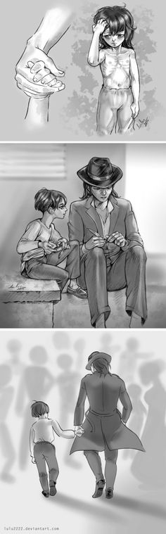 Little Levi and Kenny by Lulu2222 on DeviantArt