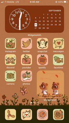 ORIGINAL Cottagecore / Fall Aesthetic iPhone iOS 14 App Icons