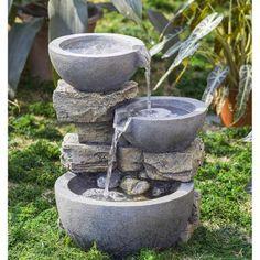 3-Tier Bowl Fountain