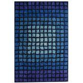 Wayfair - Rya Squares Dazzle Rug, wool, india, 5.8 ($682)