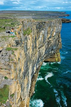 Aran Island, Ireland. The rugged Aran Islands lie Just Outside Galway Bay and just miles from the Clare coast and the Cliffs of Moher on the West Coast of Ireland. (V)