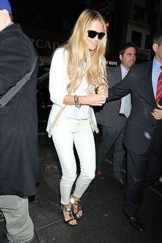 Elle MacPherson Strappy Sandals - Elle MacPherson Shoes Looks - StyleBistro