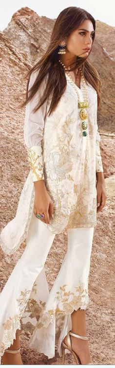 enowned Pakistani designer Durrani wedding dresses summertime that is newest wedding selection 2017 for ladies to elegant gowns. Formal Dresses For Weddings, Wedding Dresses, Latest Bridal Dresses, Pakistani Outfits, Summer Wedding, Cover Up, Indian, Tops, Fashion