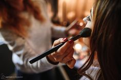 Brushes and Lashes | Getting Ready | Philly Hair and Make Up Co. | Hotel Monaco | Hoffer Photography